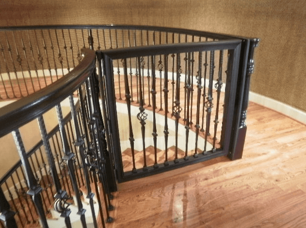 Best Safest Custom Baby Proof Gates In Houston Tx Precious Baby Protectors Installation Of Modern Safety Fences And Barriers For Infants Toddlers And Children