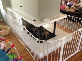 Fireplace Safety Baby Gates Screens Amp Bumper Guards In