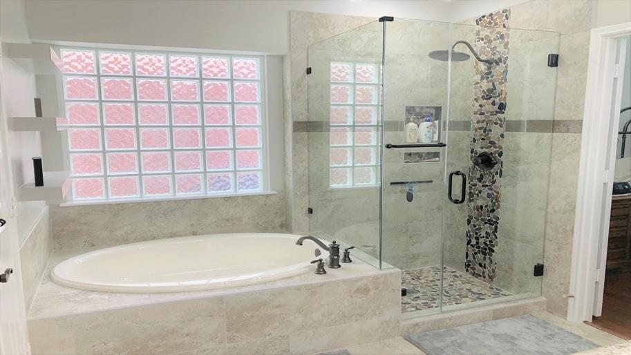 Houston TX Child Proof Bathroom Designed By Seek Design & Renovation