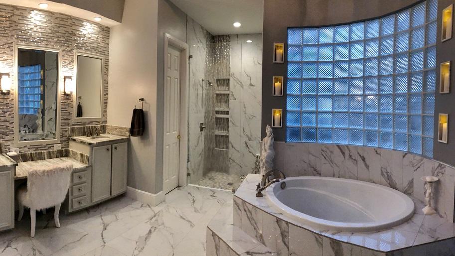 Houston TX Child Proof Bathroom Remodeled by Seek Design & Renovation