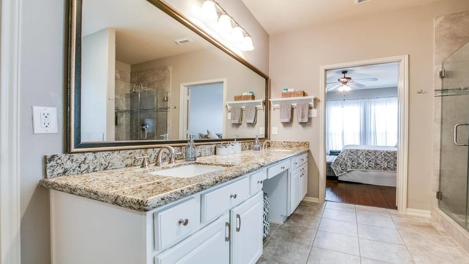 Houston TX babyproof bathroom renovation project by Your Dream Remodeling