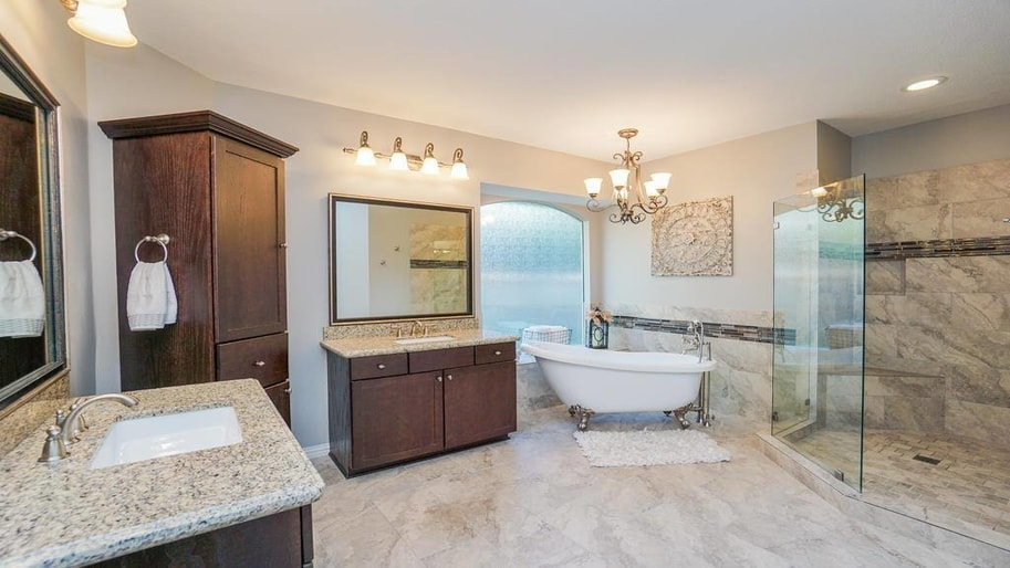 Houston TX babyproof bathroom remodeling project by Your Dream Remodeling