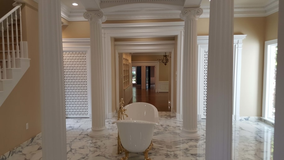 Luxurious babyproof bathroom renovation by Lonestar Custom Construction & Remodeling in Houston TX